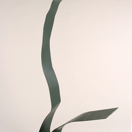 Ali Gallo: 'bend in the road', 2011 Steel Sculpture, Abstract. Artist Description:   painted welded steel  ...