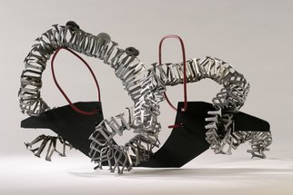 Ali Gallo: 'dragon ship', 2011 Steel Sculpture, Abstract. Artist Description:  welded steel    ...