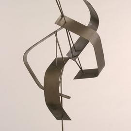 Ali Gallo: 'twister', 2009 Steel Sculpture, Abstract. Artist Description:   welded steel     ...
