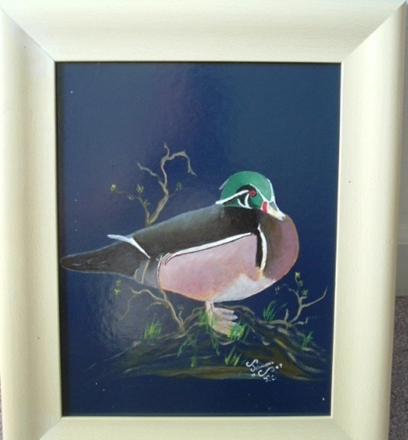 Al Johannessen  'Wood Duck', created in 2010, Original Painting Oil.
