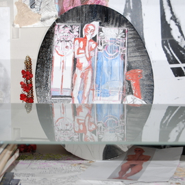 Alkistis Wechsler: 'art nouveau Vienna', 2011 Oil Painting, Scenic. Artist Description:                  new series of Vienna Art Nouveau and my friend Hugo in an atmosphere of Vampires in  the foggy nights . . . painting on oval stretched canvas. photo of    unfinished work and its surrounding. 5 dec 2011 ...