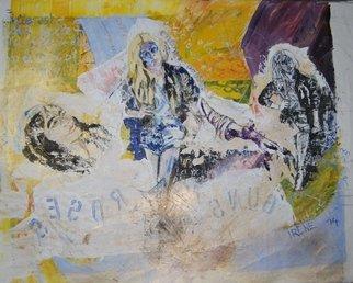 Artist: Alkistis Wechsler - Title: deconstruct and rebirth - Medium: Oil Painting - Year: 2014
