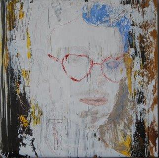 Artist: Alkistis Wechsler - Title: professor shades - Medium: Oil Painting - Year: 2014