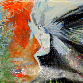 Alkistis Wechsler: 'silent scream', 2010 Other Painting, Scenic. Artist Description:        oil and acrylic        ...