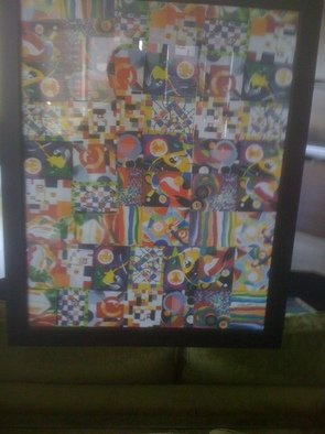 Allan Cohen Artwork  Seventy Four Pieces, 2011 Collage, Other