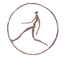 - artwork running_man_in_the_ring-1204807718.jpg - 2008, Sculpture Bronze, Figurative