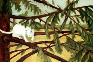 Animals Oil Painting by Alyse Dietrich titled: Spruce, created in 2005