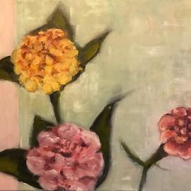 Alyse Dietrich Artwork floral composition 3, 2017 Oil Painting, Floral