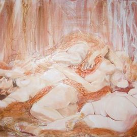3 Nudes Reclining     Work in Progress