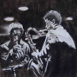 Jazz Musicians  By A M Bowe
