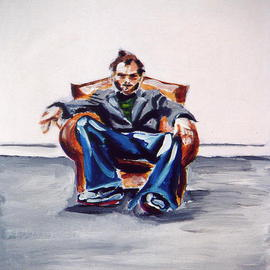 Man in Chair  By A M Bowe
