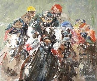 Anne-marie Bowe Artwork Number Twelve, 2009 Oil Painting, Equine