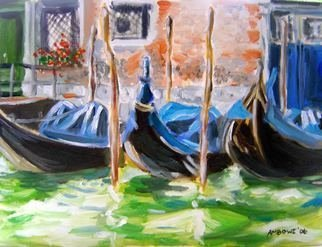 Anne-marie Bowe Artwork Venice l, 2007 Oil Painting, Sceanic