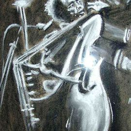 Jazz Double Bass  By A M Bowe
