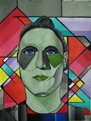 Artist: Sergio Roffe - Title: TERMINATOR - Medium: Acrylic Painting - Year: 2011