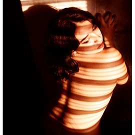 Diana Lorena Pirez Artwork Burning Tiger, 2006 Color Photograph, Nudes
