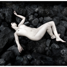 Diana Lorena Pirez Artwork Fiore Tossica, 2006 Black and White Photograph, Nudes