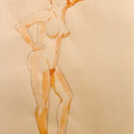 Standing Nude, Amit Bar