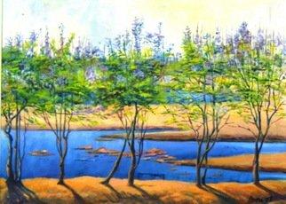 Artist: Amna Walayat - Title: Ravi  - Medium: Oil Painting - Year: 2007