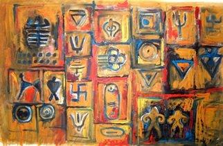 Artist: Amna Walayat - Title: Universe 1 - Medium: Oil Painting - Year: 2007