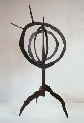 Amber Marley Padilla: 'Monstrous', 2010 Bronze Sculpture, Abstract.