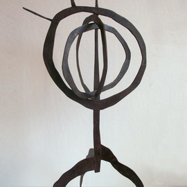 Amber Marley Padilla Artwork Monstrous, 2010 Bronze Sculpture, Abstract