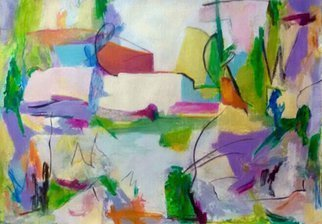Ana Castro Feijoo: 'miami', 2020 Mixed Media, Abstract. This work is based on the light and colors of summer...