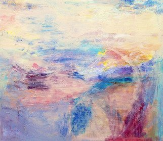 Ana Castro Feijoo: 'sunny bay', 2017 Mixed Media, Abstract. light, organic, texture, nature, sunny, bay, ...