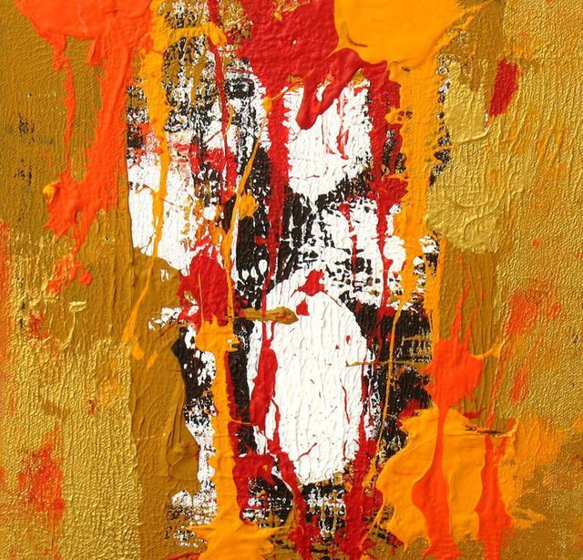 Anand Goswami  'Untiteld', created in 2011, Original Mixed Media.