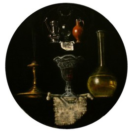 Arnold Ananicz Ananiczius: 'Still life with a Torrentius still life', 2001 Oil Painting, Figurative. Artist Description:  Still life with TORRENTIUS still life. ...