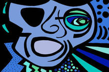 - artwork Blues_Man-1289354525.jpg - 2000, Drawing Marker, undecided