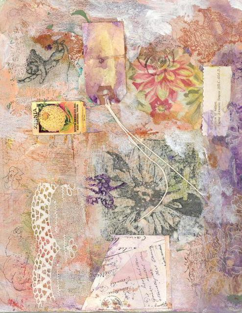 Andree Lisette Herz  'Collage 1', created in 2003, Original Assemblage.