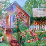 cottage garden By Andree Lisette Herz