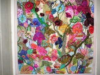 Andree Lisette Herz Artwork sunny day, 2010 Fiber, Floral