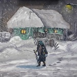 Old Lady In A Blizzard, Andrei Balau