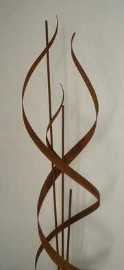 Andrew Kasper: 'flame', 2009 Steel Sculpture, Abstract.  Andrew Kasper' s aged steel free flowing Flame sculpture.height 220cmwidth  60cm. More images available upon request....