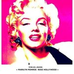 marilyn monroe rose hollywood By Ange Boua