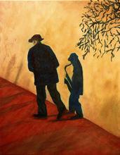 - artwork Shadow_Playin-1305123270.jpg - 2010, Painting Oil, Figurative
