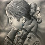 Little Navajo Girl, Angelo Lovato