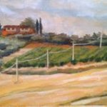 Umbrian Fields By Kirah Van Sickle
