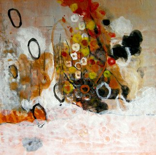 Antoaneta Hillman: 'Balancing Freedom', 2010 Encaustic Painting, Abstract. Artist Description:         encoustic, painting,       ...