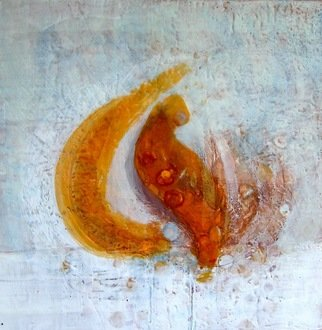 Antoaneta Hillman Artwork Gost wish, 2011 Encaustic Painting, Abstract