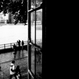 Anita Kovacevic: 'sight', 2007 Black and White Photograph, Inspirational. Artist Description: Peeking through the window of the Tower of London(c)Anita Kovacevic...