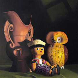Jorge Paz: 'crafts of guatemala', 2018 Oil Painting, Still Life. Artist Description: Still life, realism, classic. ...