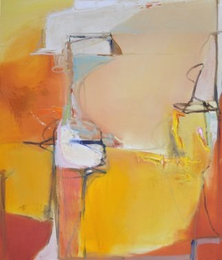 Anne Schwartz: '331 sunset in ravello', 2018 Oil Painting, Abstract. Artist Description: LargeColorfulSunsetTextureFine artOrangeYellowPink...