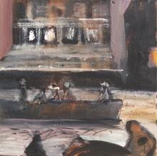 - artwork Exiles_-1355094807.jpg - 2012, Painting Oil, Figurative