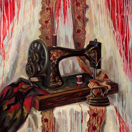 Still life with blood By Anna Reztsova