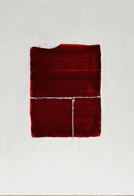 Antoaneta Hillman  'Red Attracrtion', created in 2017, Original Painting Encaustic.