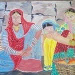indian vegetable sellers By Anuradha Swaminathan