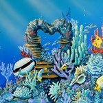 Reef Luvin It By Environmental Artist Apollo